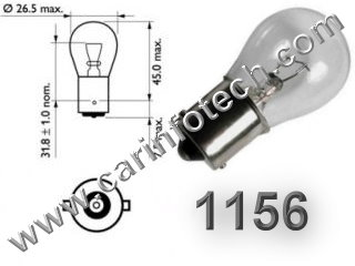 3x 10x H6W BAX9S 433 6W Halogen Bulbs Car Side Light Parking Bulb Lamp 12V