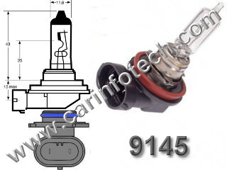 H10 PY20d 9140 9145 9155 Automotive Car Headlight Replacement Light Bulb