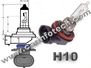 9040 9140 9145 H10 PY20D headlight replacement light bulb