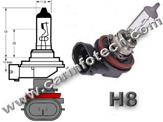 H8 PGJ19-1 headlight replacement light bulb